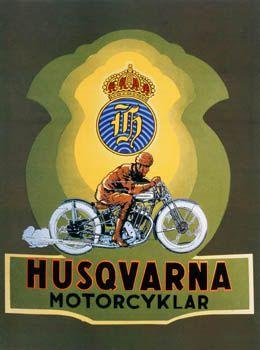 Vintage Husqvarna motorcycle parts